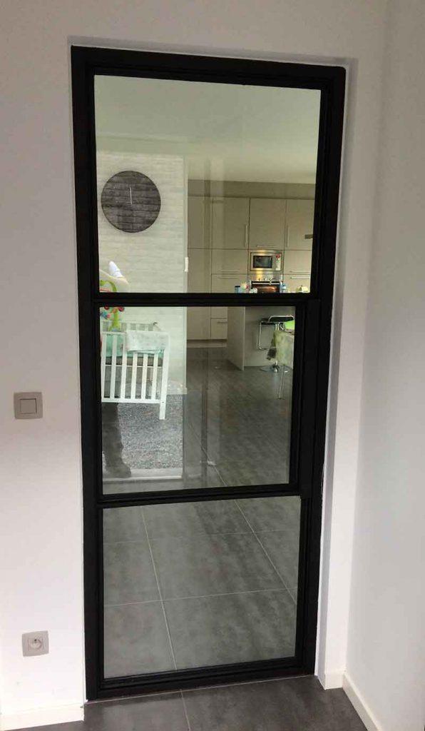 Fabulous Stalen binnendeur met glas op maat #LD94