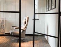 Stalen binnendeur voor bureau